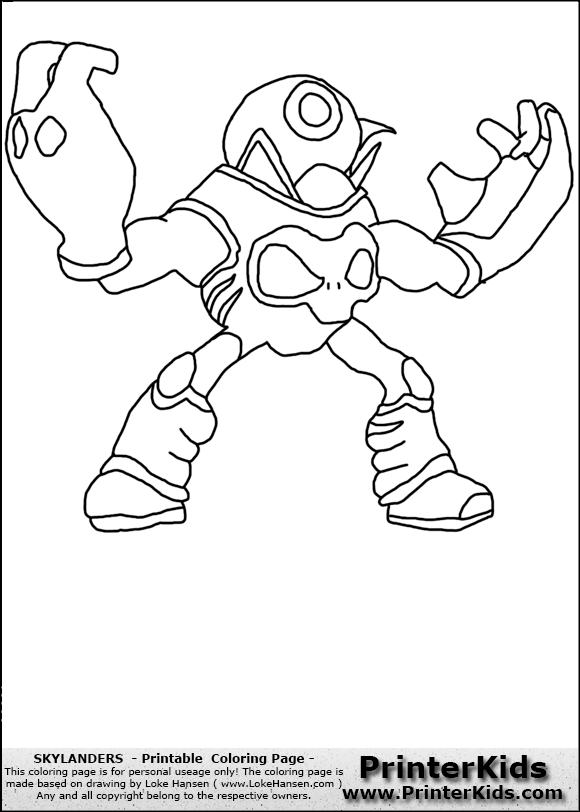 how to draw skylanders imaginaters
